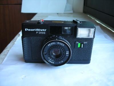 很新珠江F35便携式自动曝光相机,收藏使用