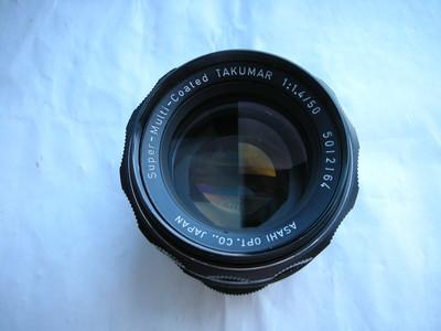 很新宾得太苦玛50mmf1.4SMC金属制造经典镜头