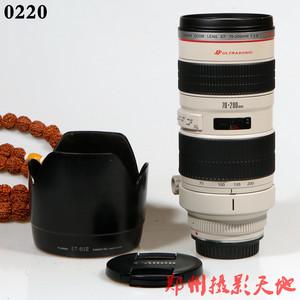 佳能 EF 70-200mm f/2.8L USM(小白) 单反镜头 0220