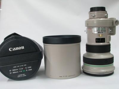 佳能 EF 400mm f/4 DO IS USM(大绿)98-99新