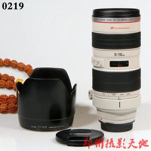 佳能 EF 70-200mm f/2.8L USM(小白) 98新单反镜头 0219