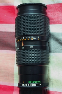 稀有的佳能口玛米亚80-200/3.8镜头
