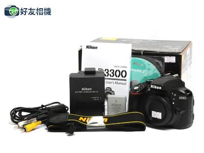 尼康/Nikon D3300  数码入门单反相机*超美品连盒*