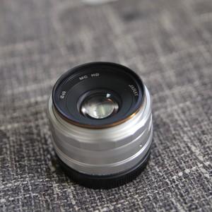 JARAY 嘉蕊 35mm F1.6 微单镜头大光圈 EOS-M 卡口