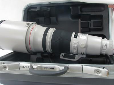 佳能 EF 600mm f/4L IS II USM二代大炮99新带箱子
