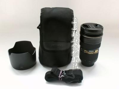 成色很好 尼康AF-S 24-70 F2.8G ED 镜皇 带原装镜头筒 #8205