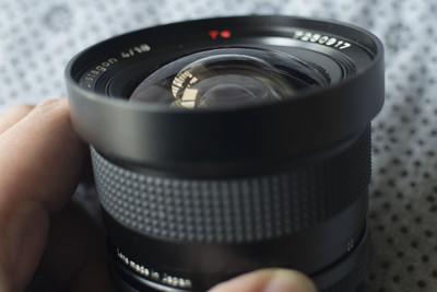 史上最便宜的 Contax CY 18mm f/4 含原厂袋 赠转接环
