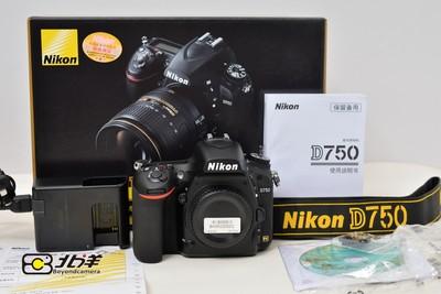 99新 尼康 D750行货带包装(BH05200002)