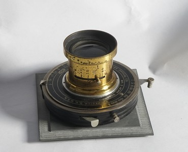 4x5 5x7 无名黄铜镜头210mm/8