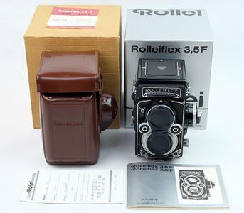 禄来 Rolleiflex Rollei 3.5F planar  最后期的白脸 (全包装)