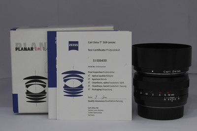 卡尔·蔡司 Planar T* 50/1.4 ZE(NO:9050)