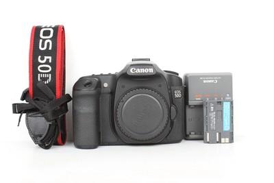 93新二手Canon佳能 50D 单机 中端单反相机(B96929)京