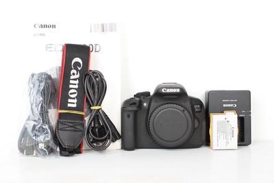 96新二手 Canon佳能 700D 单机 专业单反相机(B96924)【京】