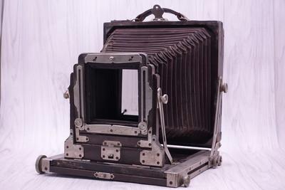买一送一 80新 日本写真器械制造所 4*5座机 大中幅 大量片夹赠送