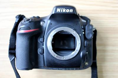 尼康 D800+MB-D12手柄