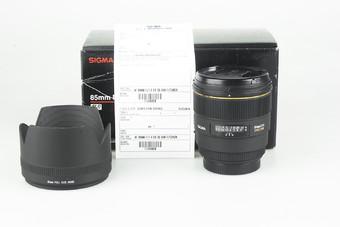 98新 适马 85mm f/1.4 EX DG H