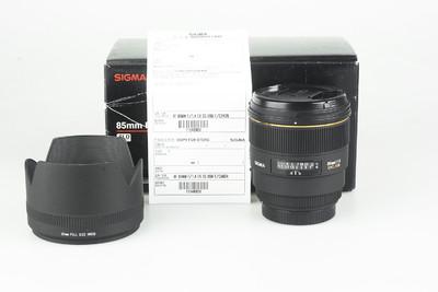 98新 适马 85mm f/1.4 EX DG HSM