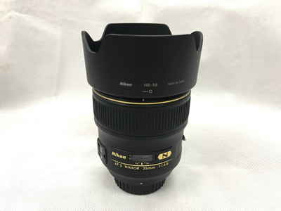 尼康AF-S 35mm f/1.4G广角定焦全画幅单反镜头