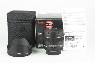 98新 适马50mm f/1.4 EX DG HSM(尼康口)