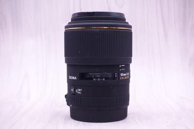 95新 适马 105mm f/2.8 EX DG Macro 105/2.8D 微距镜头