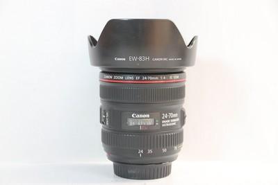 95新二手 Canon佳能 24-70/4 L IS USM红圈镜头(T000418)津