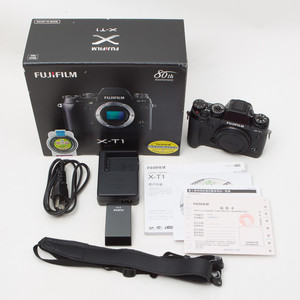 Fujifilm富士 X-T1单机身XT1单电微单数码相机 95新 国行 NO:6322