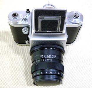 潘太康6 Six TL带 苏联80/2.8标头 6x6中画幅胶片机