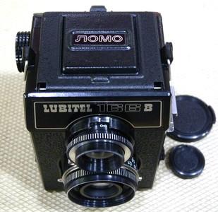 Lomo留比特Lubiter 166B 经典俄罗斯双镜头120相机
