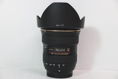 96新二手TOKINA图丽 12-24/4 II AT-X 二代镜头尼康口 T000421 津