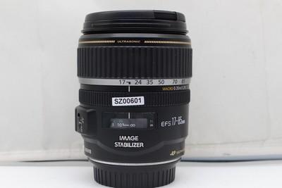 95新二手Canon佳能 17-85/4-5.6 IS USM(SZ00601)【深】