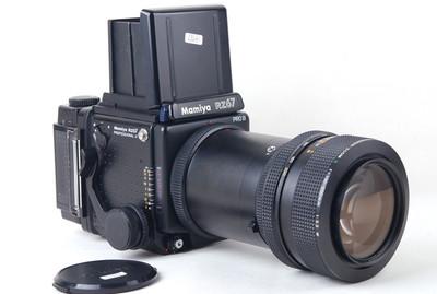 【美品】玛米亚 RZ67 Pro II+100-200/5.2 w+120背 套机#jp19787