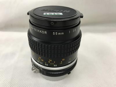 尼康 55mm f2.8 AIS NIKON NIKKOR Micro 标准微距镜头 手动微距