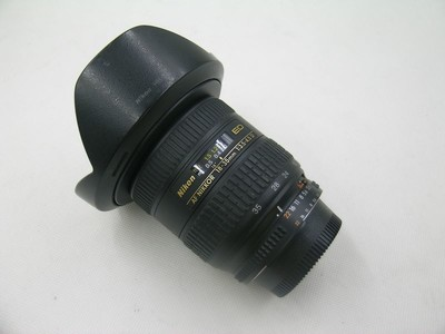 出售 98新 尼康 AF 18-35mm f/3.5-4.5D IF-ED 银广角 请看图片