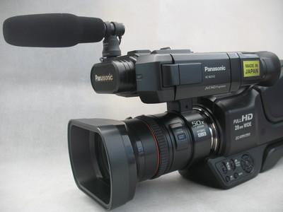 95新 松下MDH2GK 双卡高清摄像机 原电 原充 话筒全套 3150元