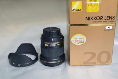 99新 尼康 AF-S 尼克尔 20mm f/1.8G ED 广角定焦镜头
