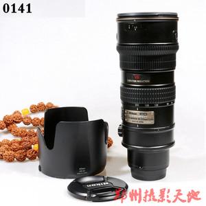 尼康 AF-S VR 70-200mm f/2.8G IF-ED(小竹炮)镜头 0141