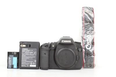 96新二手 Canon佳能 7D 单机 中端单反相机(B96936)京