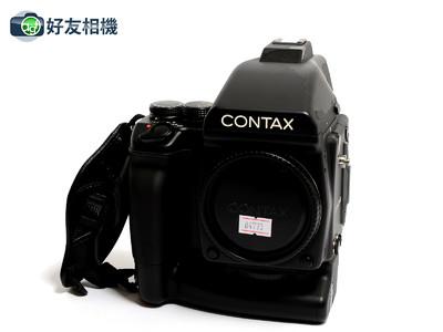康泰时/Contax 645机身連MP-1电池手柄后背和120/220片芯 *美品*