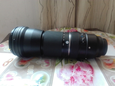 腾龙 SP 150-600mm f/5-6.3 Di USD(A011)(佳能口)