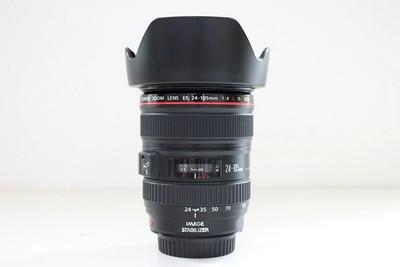 94新二手Canon佳能 24-105/4 L IS USM 防抖镜头 CD00155【成】