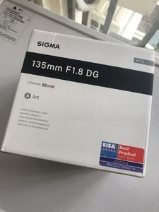 适马SIGMA ART 135mm F1.8 DG HSM 全新 国行 保三年 佳能口
