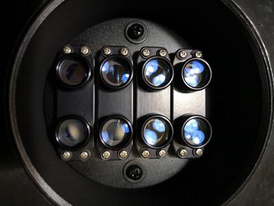 一个彩扩机用的-带镜头板的可拆卸分解的八分镜-DIY的好材料