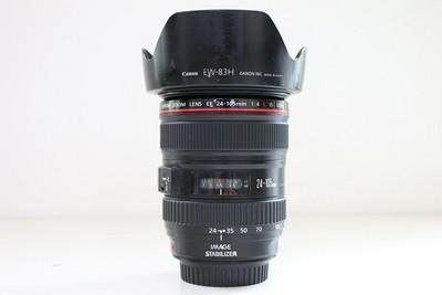94新二手Canon佳能 24-105/4 L IS USM 防抖镜头 CD00157【成】