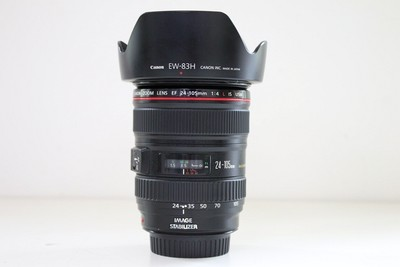 94新二手Canon佳能 24-105/4 L IS USM 防抖镜头 CD00159【成】