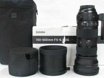 适马 150-600mm f/5-6.3 DG OS HSM Sports行货镜头原包装