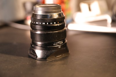 富士 Super EBC XF 23mm f/1.4 R 送逼格方罩