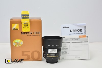 99新 尼康 AFS 50/1.8G行货带包装(BH05270003)【已成交】