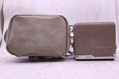 二手美能达 mini35幻灯机 带皮包