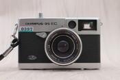 95新 二手奥林巴斯 Olympus 35 EC 胶卷相机 老相机 0397