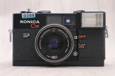 二手 柯尼卡C35 EF 胶卷老相机 旁轴相机 0398